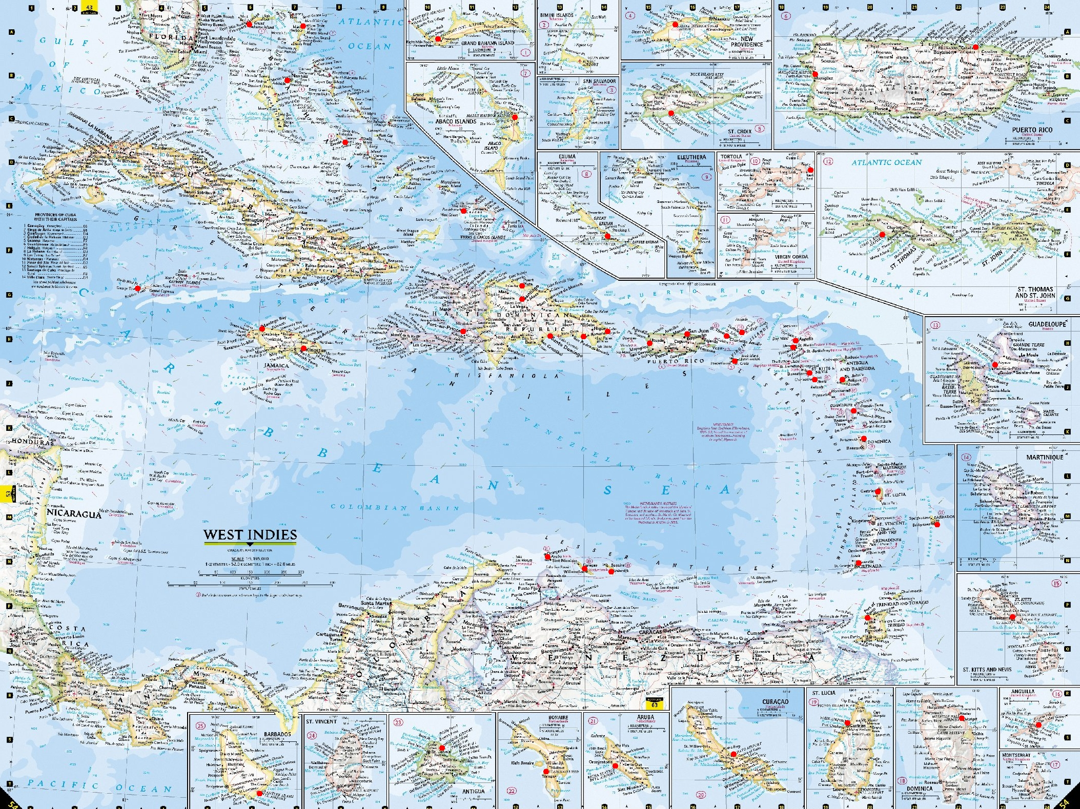 American Airlines Virtual  View Topic USA Flight Planing Map - A a large map of the usa
