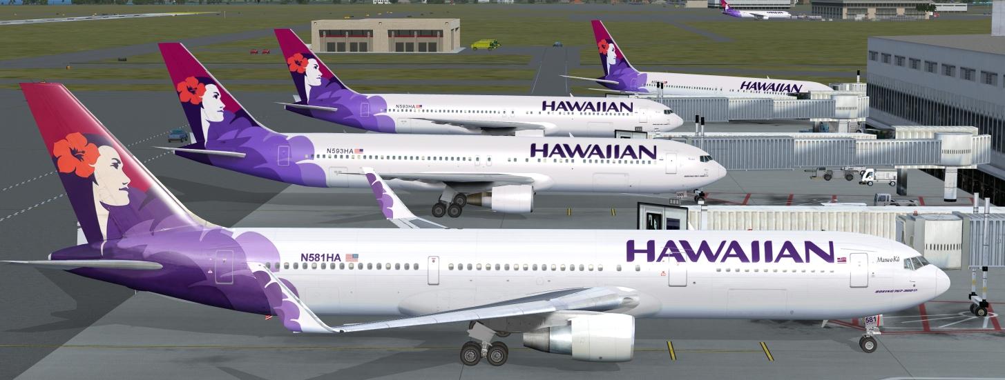 Hawaiian Airlines codeshare PHOG-KLAS - American Airlines